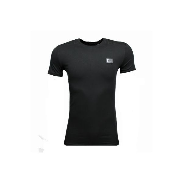 Antony Morato Basic T-Shirt Black Metal Logo