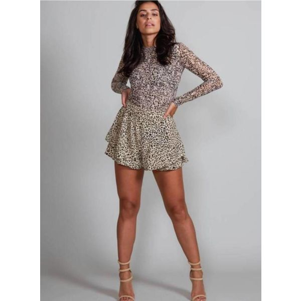 Jacky Luxury Leopard Shorts Jacky Luxury
