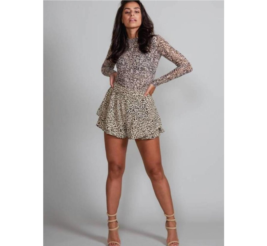 Leopard Shorts Jacky Luxury