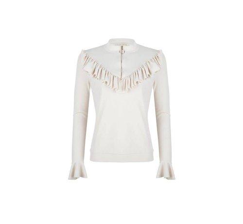 Delousion Sweater Snow Offwhite