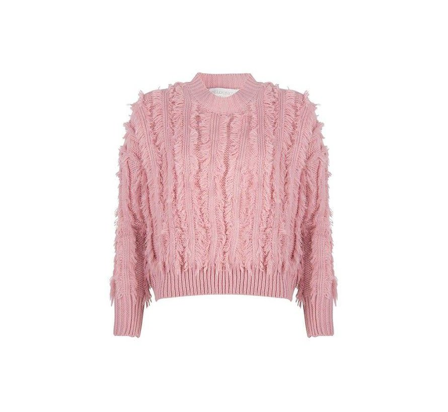 Sweater Feather Light Coral