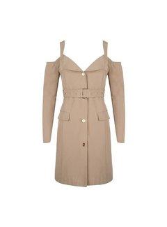 Delousion Dress Winter Beige