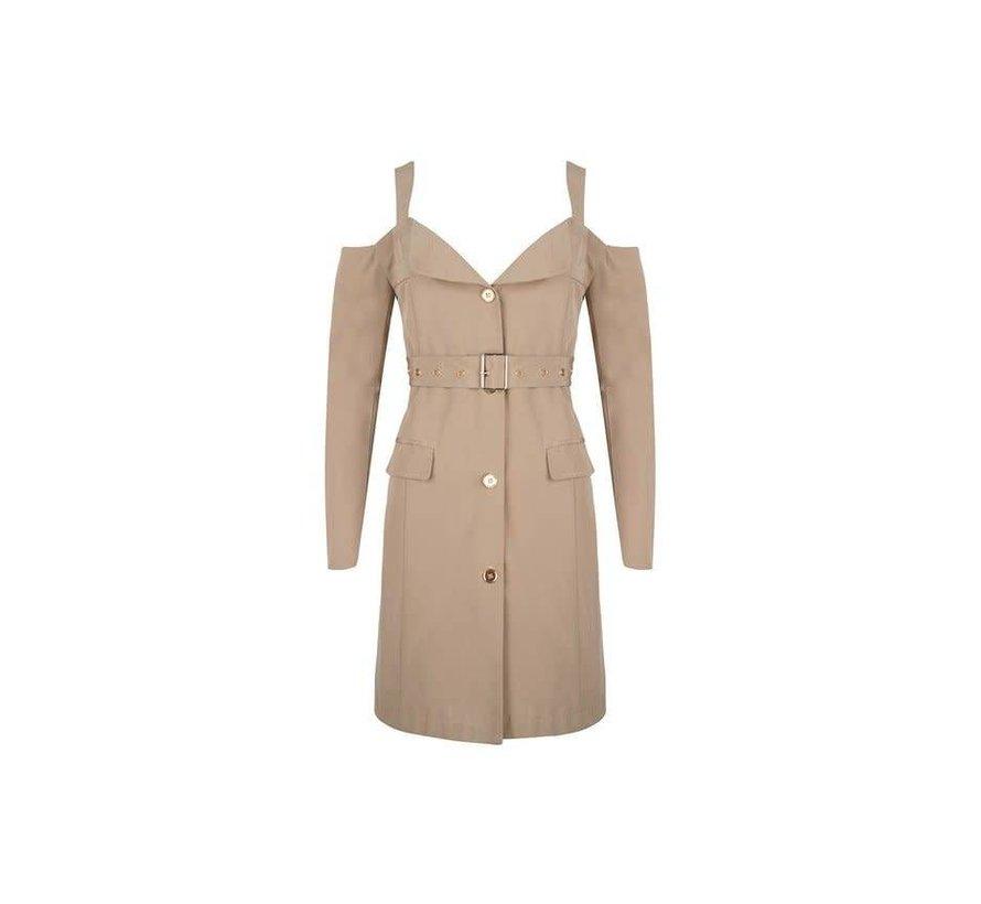Dress Winter Beige