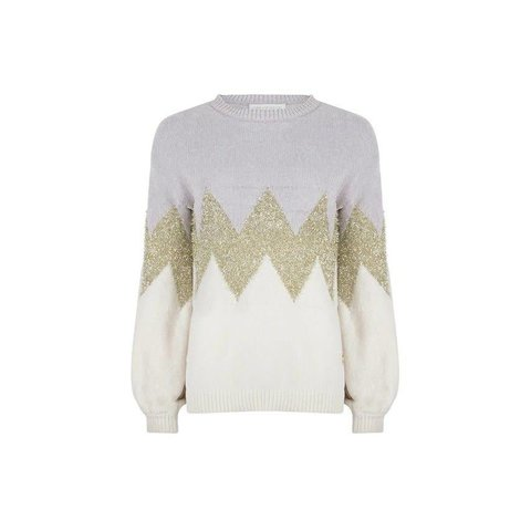 Sweater Dees Grey/Gold