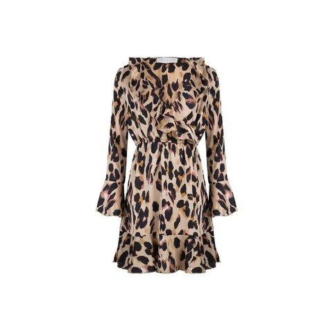 Dress Krissy Khaki Leopard
