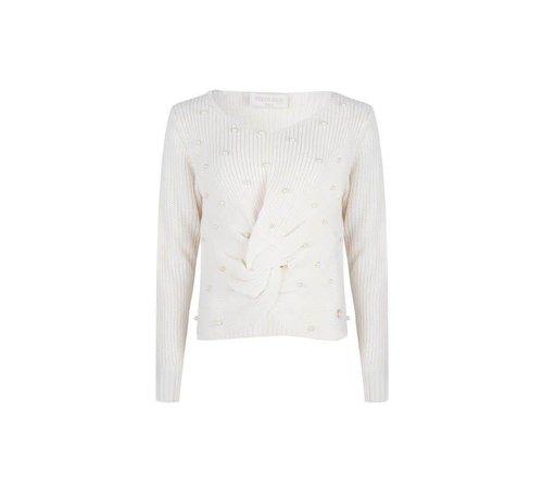 Delousion Sweater Pearla White