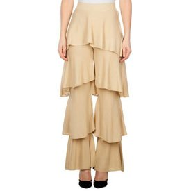 Reinders Cherie Ruffle Pants Lurex Creme