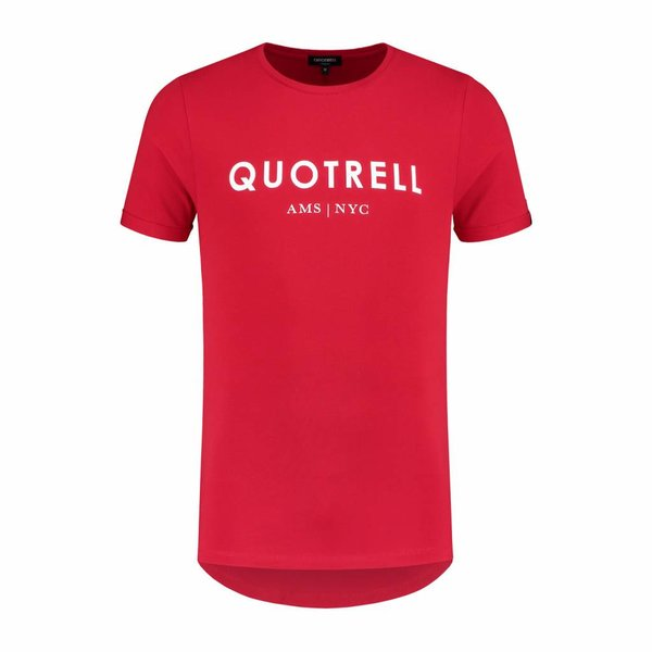Quotrell Tee Red/White Shirt
