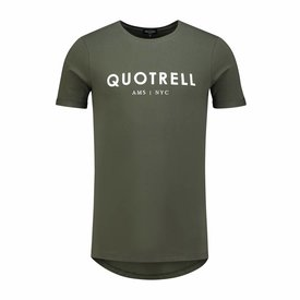 Quotrell Tee Army White Shirt