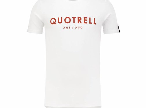 Quotrell Tee White/Red Shirt