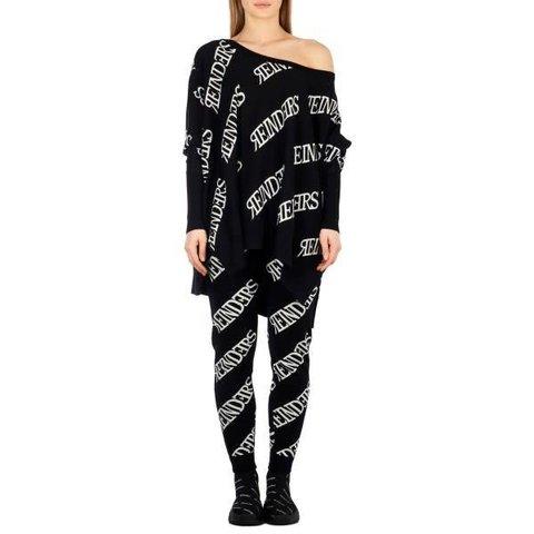 Loesje Knitwear All Over Black/White