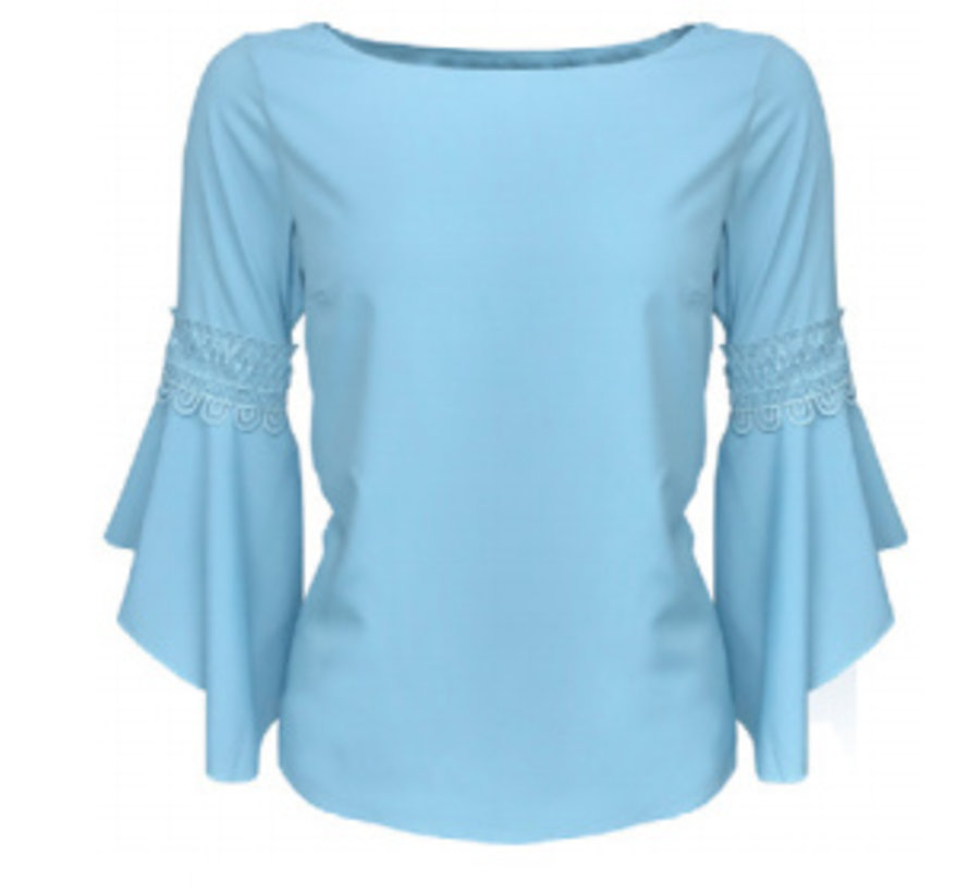 Lorene Blouse Blue