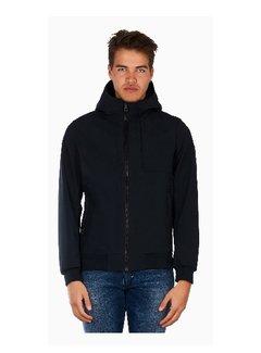 Airforce Softshell jacket Chest Pocket Blue