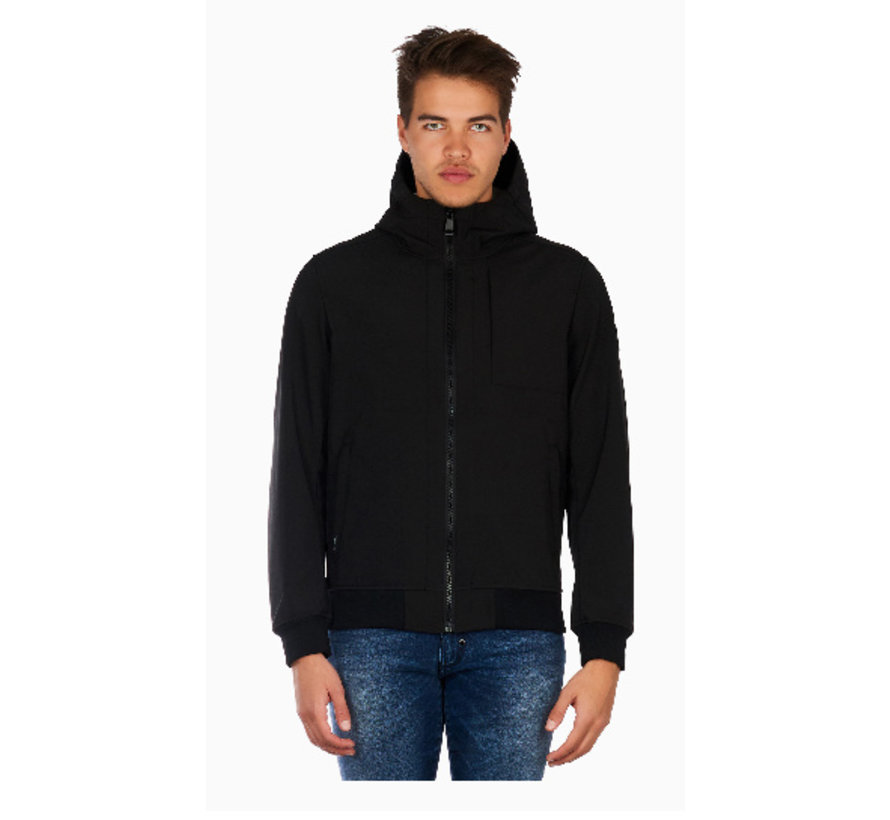 Soft jacket chest pocket
