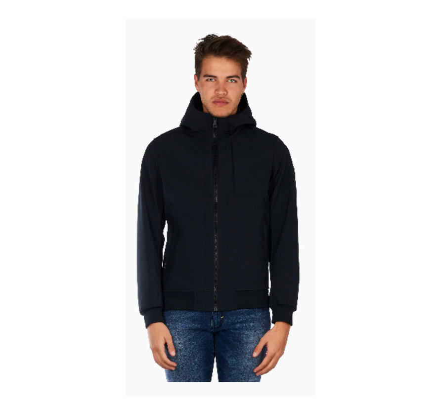 Softshell jacket Chest Pocket Blue