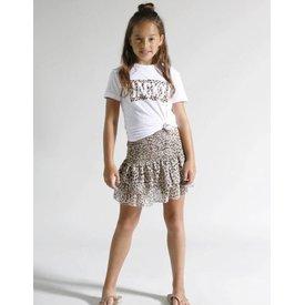 Jacky Luxury Kids short leopard girls