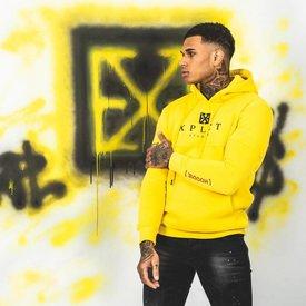 Xplct Explicit Brand Hoodie Yellow