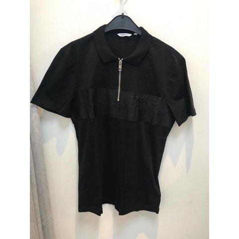 Polo Black Zipper