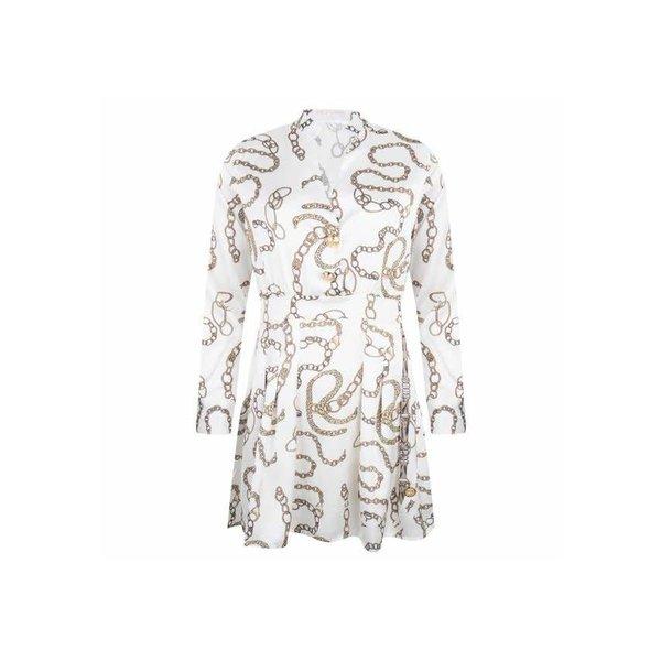 Delousion Dress Skyler Offwhite