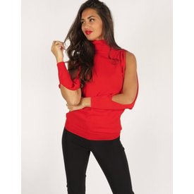 Goldie Estelle Alpina Sweater Red
