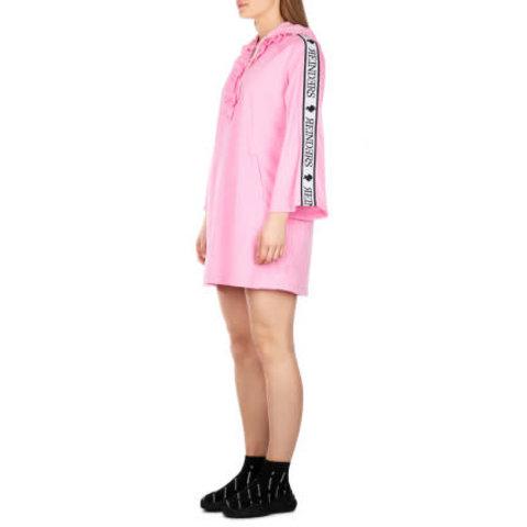 Tracking Dress Ruffle Pink