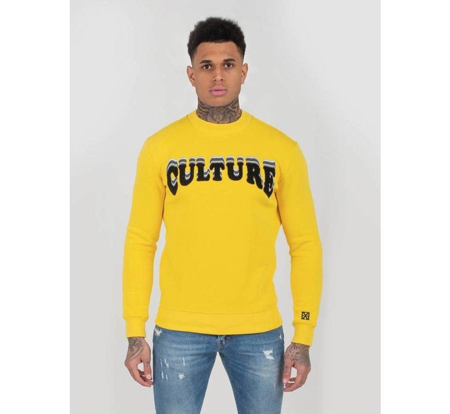 Culture Sweater Geel