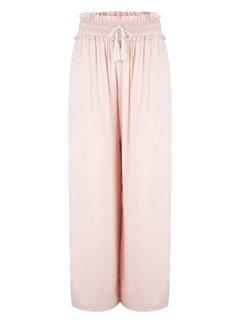 Jacky Luxury Pants Whit smock detail Nude