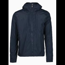 Pure White Rain Jacket Navy