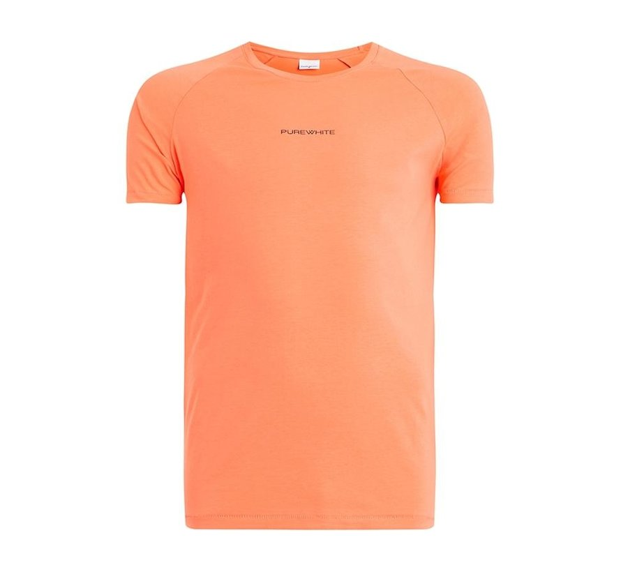 Shirt Coral With Logo