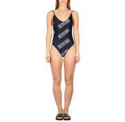 Reinders Swimsuit All Over Print Black