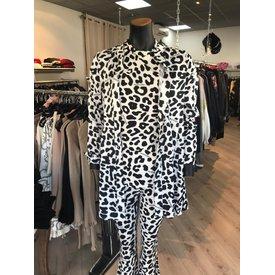 Reinders Mandy Pants Leopard Black