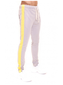 Radical Trackpants Grey / Yellow