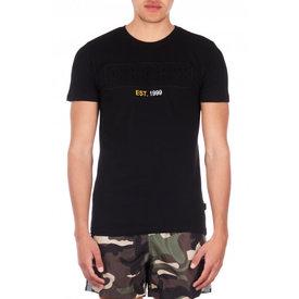 Airforce Tee Emboss Shirt Black