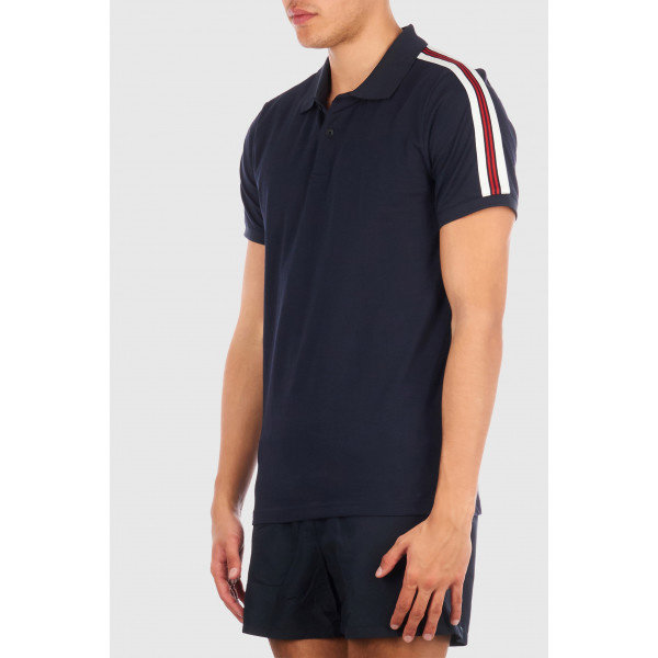Airforce Polo Tape Blue