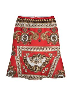Delousion Skirt Grace Orange