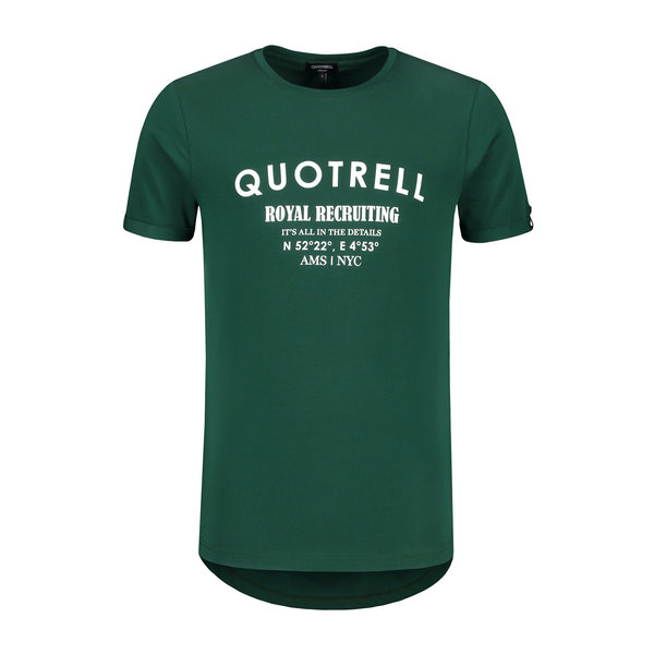 Quotrell Royal Recruiting Tee Petrol / White
