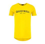 Quotrell Tee Yellow / Black