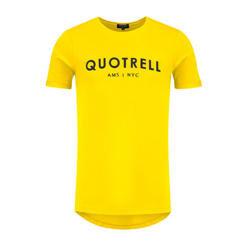 Tee Yellow / Black