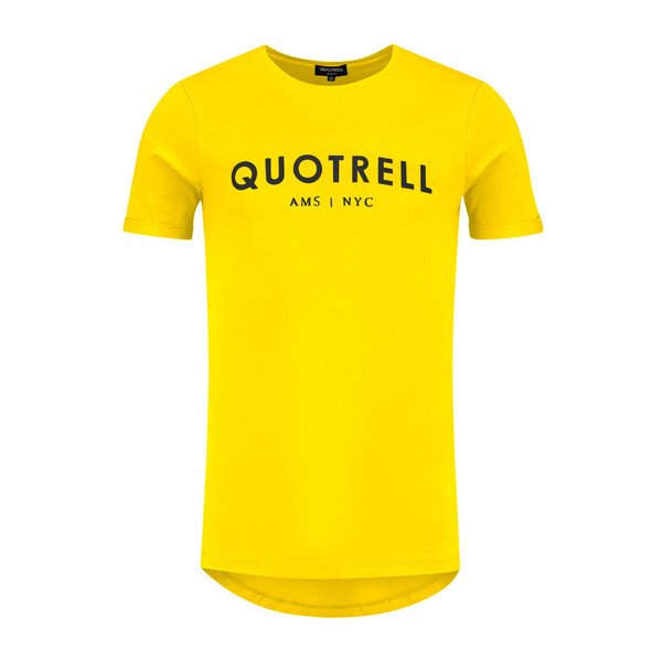 Quotrell Tee Yellow / Black
