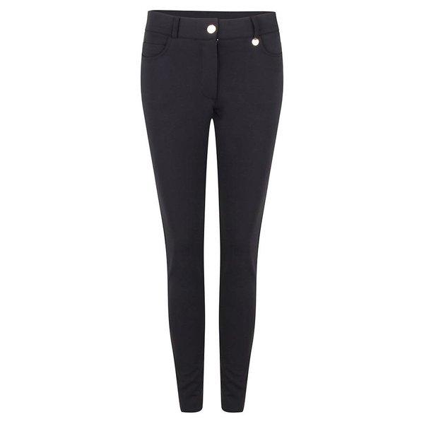 Jacky Luxury Trouser Travel 5 Pocket Black