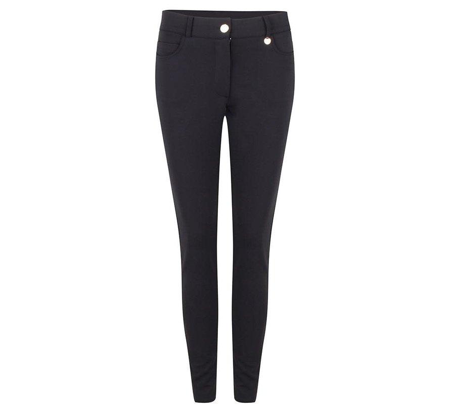 Trouser Travel 5 Pocket Black