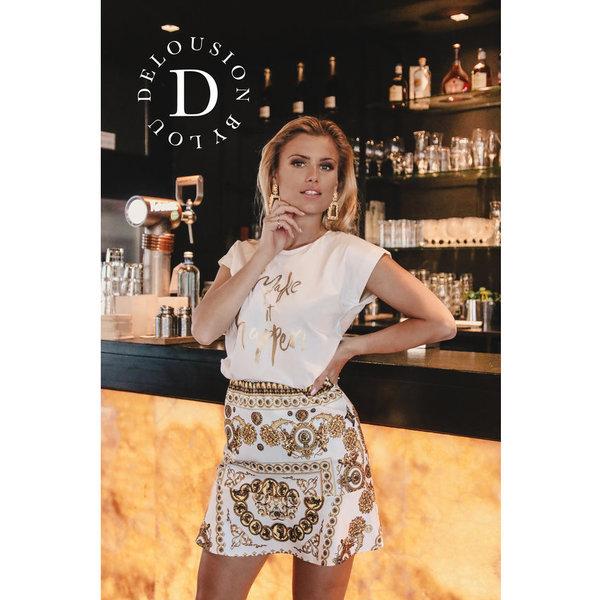 Delousion Skirt Grace White