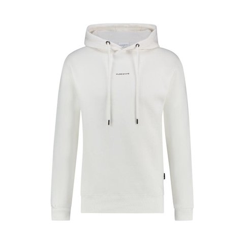ESSENTIAL LOGO HOODIE OFF WHITE
