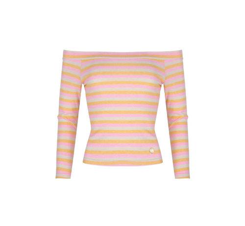 Delousion Top Ciara Stripes