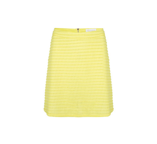 Delousion Skirt Holly Yellow