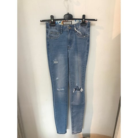 Jeans Queen Hearts Blue