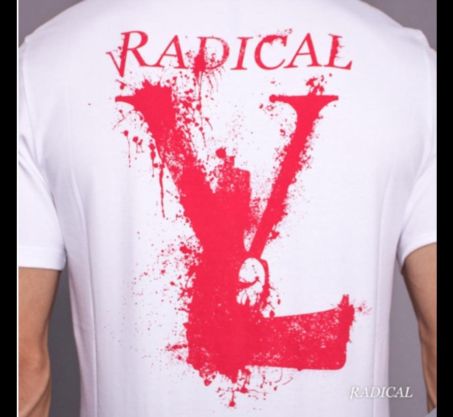 Lucio Melting Gun Back  White /  Red