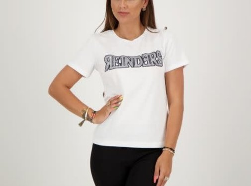 Reinders T- Shirt Slim Fit White / True Black
