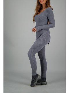 Reinders Twin Set Sweater Metal Grey W051