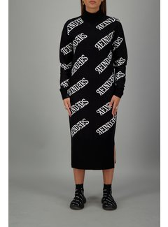 Reinders Dress all over True Black
